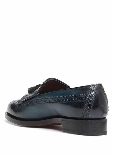 Santoni Ayakkabı Mavi